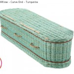 Curved End Turquoise Willow