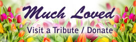 Much Loved - Visit a tribute / donate